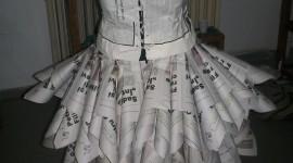 Dresses Made Of Paper Wallpaper For Mobile#1