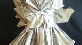 Dresses Made Of Paper Wallpaper For Mobile#2