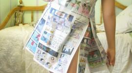 Dresses Made Of Paper Wallpaper For Mobile#3