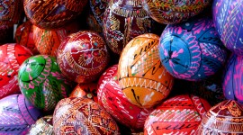Easter Eggs Desktop Wallpaper