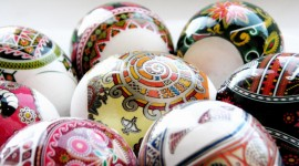 Easter Eggs Wallpaper Full HD