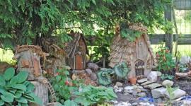 Fairy Houses Photo Free