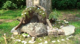 Fairy Houses Wallpaper Download