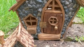 Fairy Houses Wallpaper For IPhone