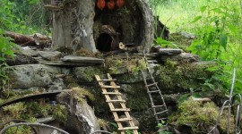 Fairy Houses Wallpaper For IPhone#2