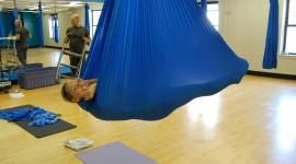 Fly Yoga Wallpaper