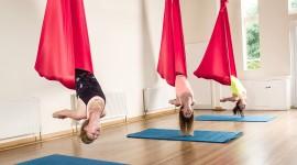 Fly Yoga Wallpaper For Desktop