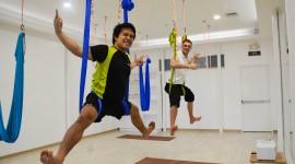 Fly Yoga Wallpaper HQ