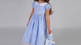 Girl Spring Dresses Wallpaper
