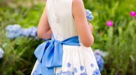 Girl Spring Dresses Wallpaper For Android