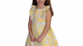 Girl Spring Dresses Wallpaper Free