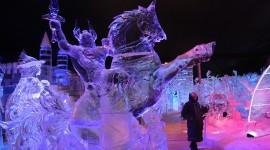 Ice Sculpture Desktop Wallpaper