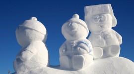 Ice Sculpture Desktop Wallpaper For PC