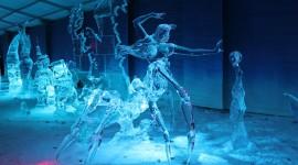 Ice Sculpture Desktop Wallpaper HD
