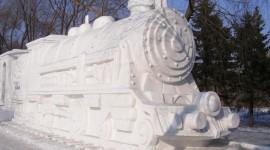 Ice Sculpture Desktop Wallpaper#1