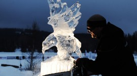 Ice Sculpture Photo Free#3