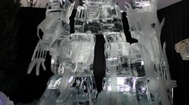 Ice Sculpture Wallpaper For IPhone#2