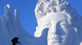 Ice Sculpture Wallpaper Full HD