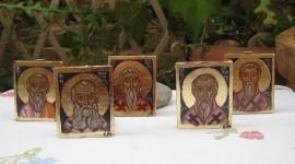 Icons Of Saints Desktop Wallpaper HD