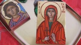 Icons Of Saints Wallpaper Free