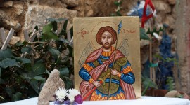 Icons Of Saints Wallpaper Full HD