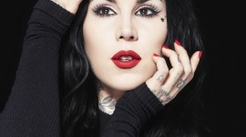 Kat Von D Wallpaper For IPhone Download