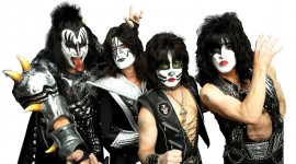 Kiss Band Wallpaper Background