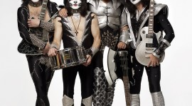 Kiss Band Wallpaper For IPhone