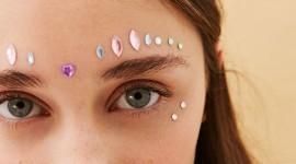 Makeup Rhinestones Wallpaper For IPhone#3