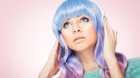 Multi-Colored Hair wallpapers high quality