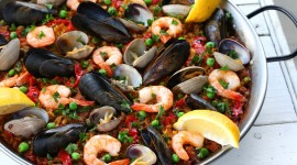 Paella With Seafood Best Wallpaper