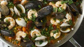 Paella With Seafood Wallpaper 1080p