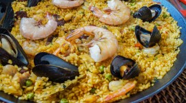 Paella With Seafood Wallpaper For PC
