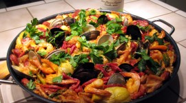 Paella With Seafood Wallpaper Gallery