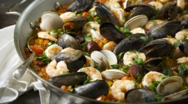 Paella With Seafood Wallpaper High Definition