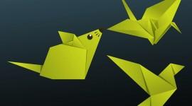 Paper Animals Desktop Wallpaper For PC