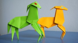 Paper Animals Desktop Wallpaper HD
