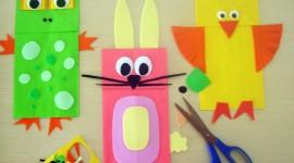 Paper Animals Wallpaper