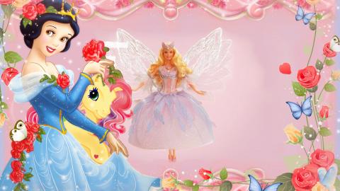 Princess Frame wallpapers high quality