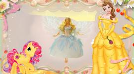 Princess Frame Desktop Wallpaper For PC