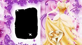 Princess Frame Desktop Wallpaper HD