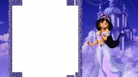 Princess Frame Wallpaper For Desktop