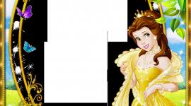 Princess Frame Wallpaper For IPhone#2
