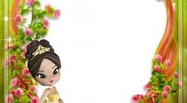 Princess Frame Wallpaper For Mobile#2
