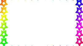 Rainbow Frame Image
