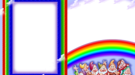 Rainbow Frame Wallpaper