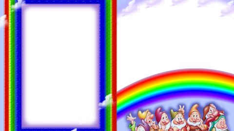 Rainbow Frame wallpapers high quality