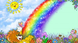 Rainbow Frame Wallpaper Download
