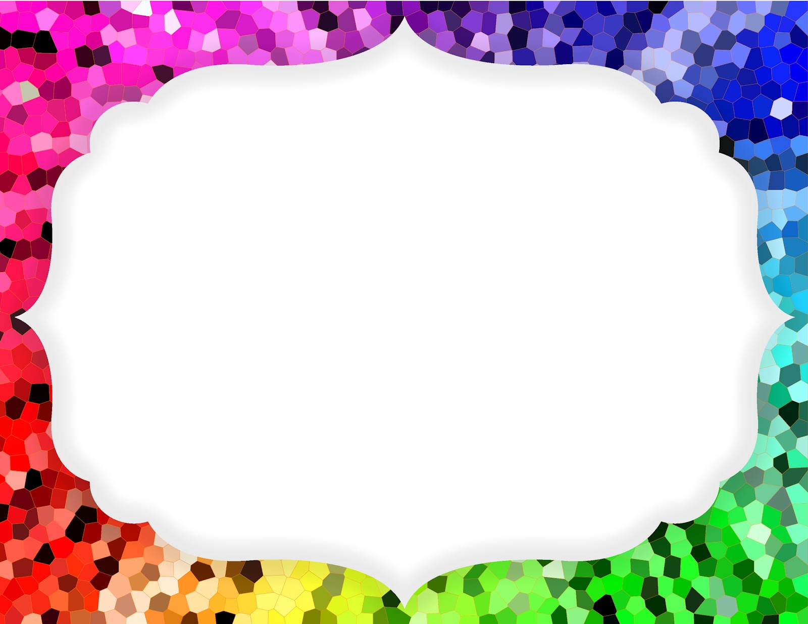Rainbow Frame Wallpapers High Quality | Download Free