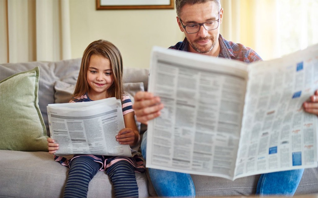 Read A Newspaper wallpapers HD